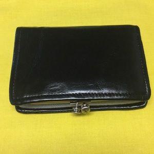 Hobo Delta Leather Wallet